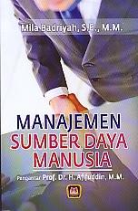 toko buku rahma: buku MANAJEMEN SUMBER DAYA MANUSIA, pengarang mila badriyah, penerbit pustaka setia