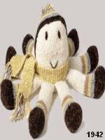 patron gratis pulpo amigurumi de punto, free knit amigurumi pattern octopus