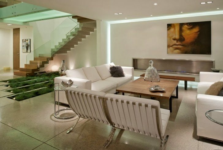 Living room furniture in Modern dream home by Paz Arquitectura