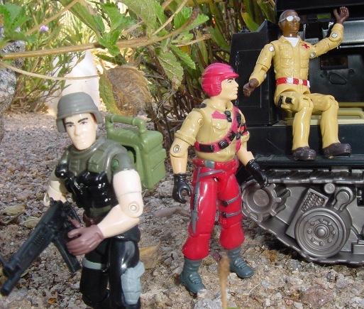 1986 Mission to Brazil Mainframe, TRU Exclusive, 2001 Leatherneck, Medico, SOS, Argentina, Plastirama, Doc, 2002 Night Rhino, Sgto. Slaughter