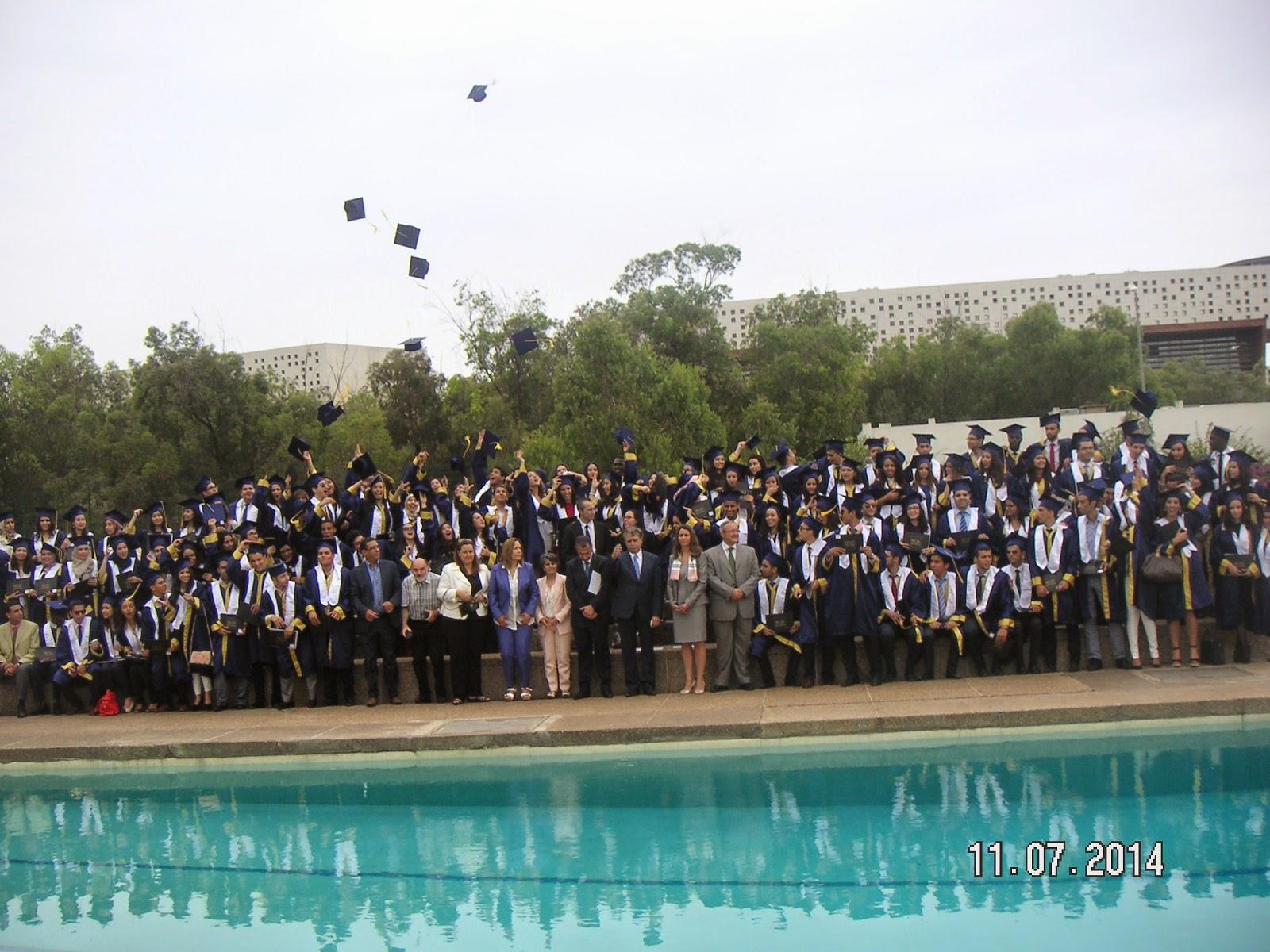 حفل تخرج الفوج 41 لمجموعة المعهد العالي للتجارة وإدارة المقاولات الدار البيضاء - ISCAE