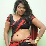 Sitara Hot Photos in Saree at Gundello Guchi Guchi Champake Movie Press Meet 3