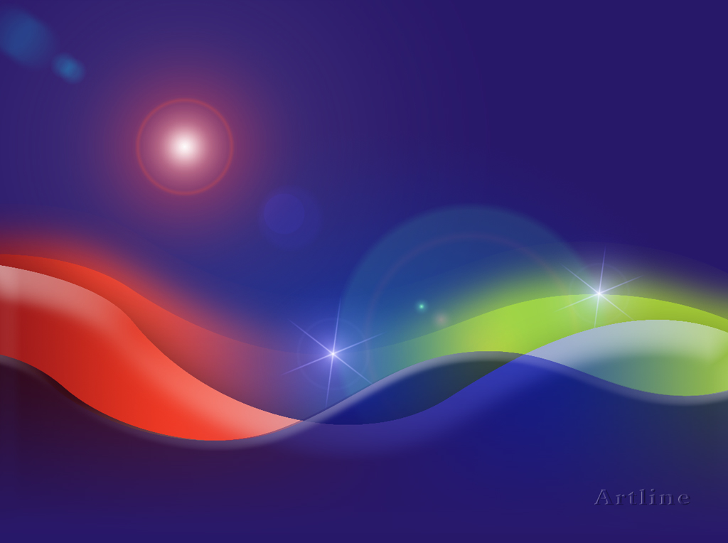 3d abstract vector wave graphic