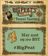 Big Peat Tweet Tasting