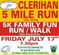 5 mile race in S.Tipp...Fri 17th July