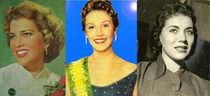 Misses Universo Brasil 1954, 1955 e 1956