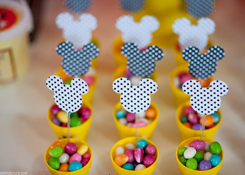 Fiesta tem tica de mickey mouse cumplea os arcos con - Decoracion de cumpleanos infantiles ...