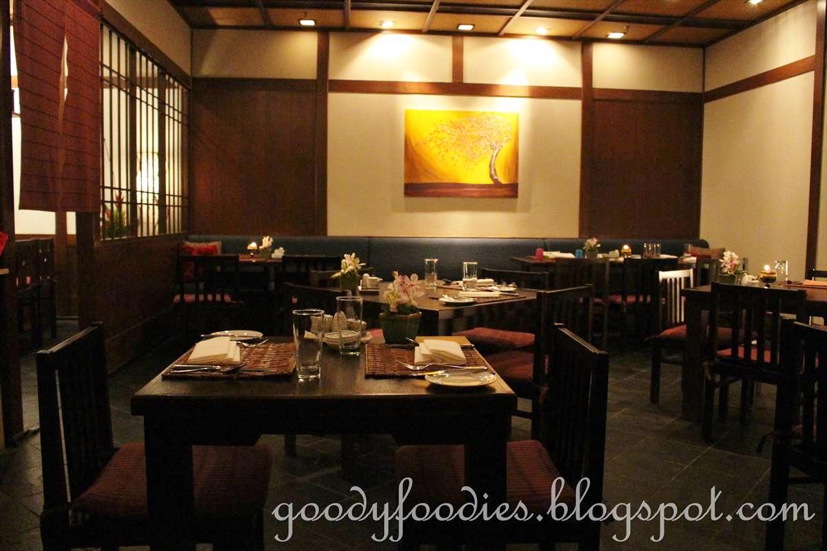 Rainforest Restaurant Buffet Menu