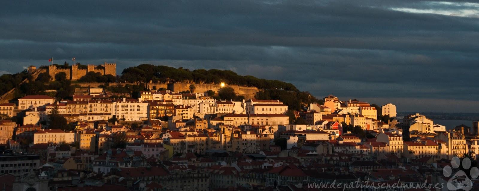 Mirador de San pedro de Alcantara en Lisboa