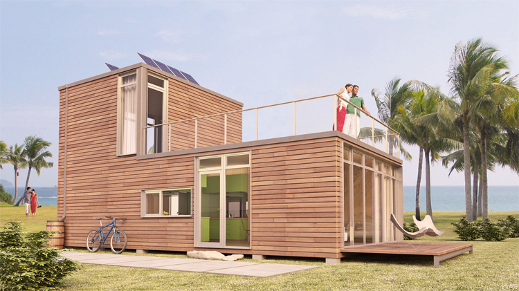 Small scale homes container homes by meka world - Meka shipping container homes ...