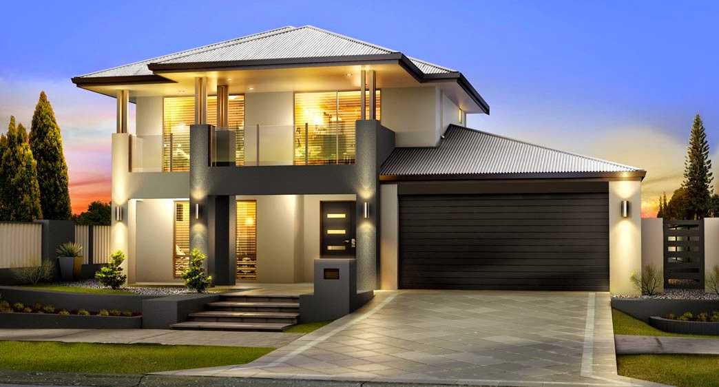 Foundation Dezin & Decor...: Modern House - Front Elevation.