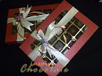 24pcs pralines in window box