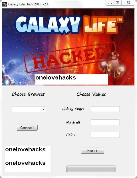 Galaxy Life Hack v2.1 | OneLoveHacks
