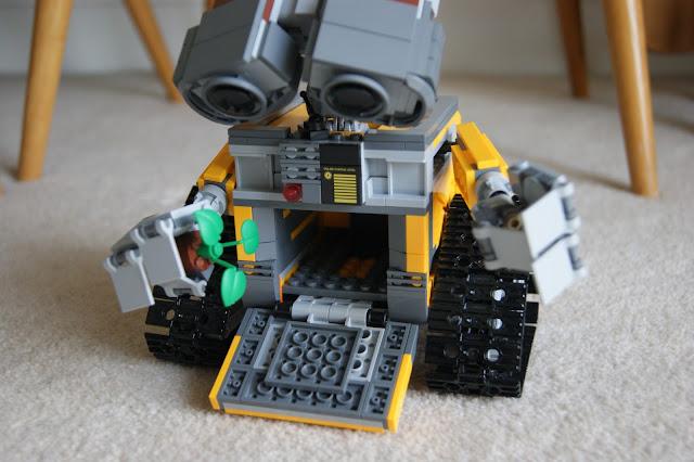 Wall-E Lego toy, fun, building, Lego