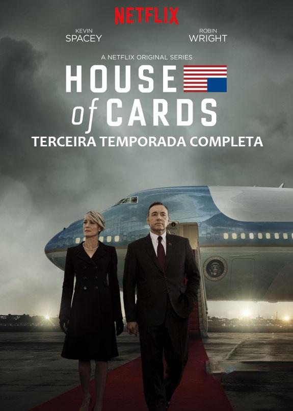 House of Cards 3ª Temporada Torrent - WEBRip 720p Dual Áudio (2015)