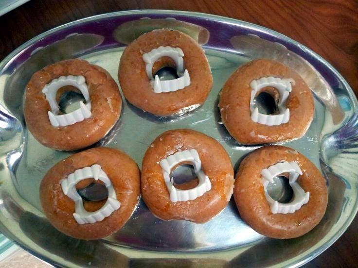 Vampire Doughnuts @northmanspartyvamps.com