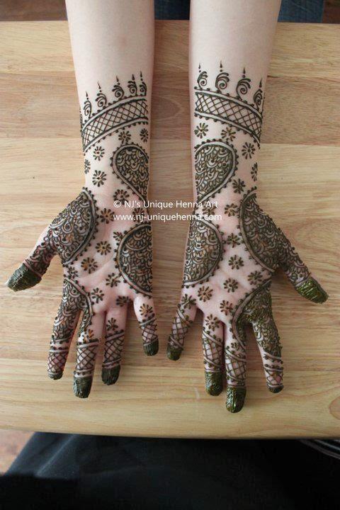 Mehndi Foot Design