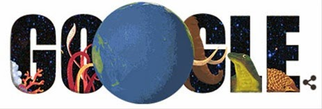 Google Doodle World Earth Day