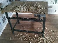 Sencillo banco de carpintero, enredandonogaraxe