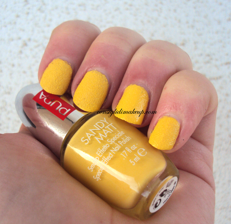 sandy matt pupa milano 003 yellow