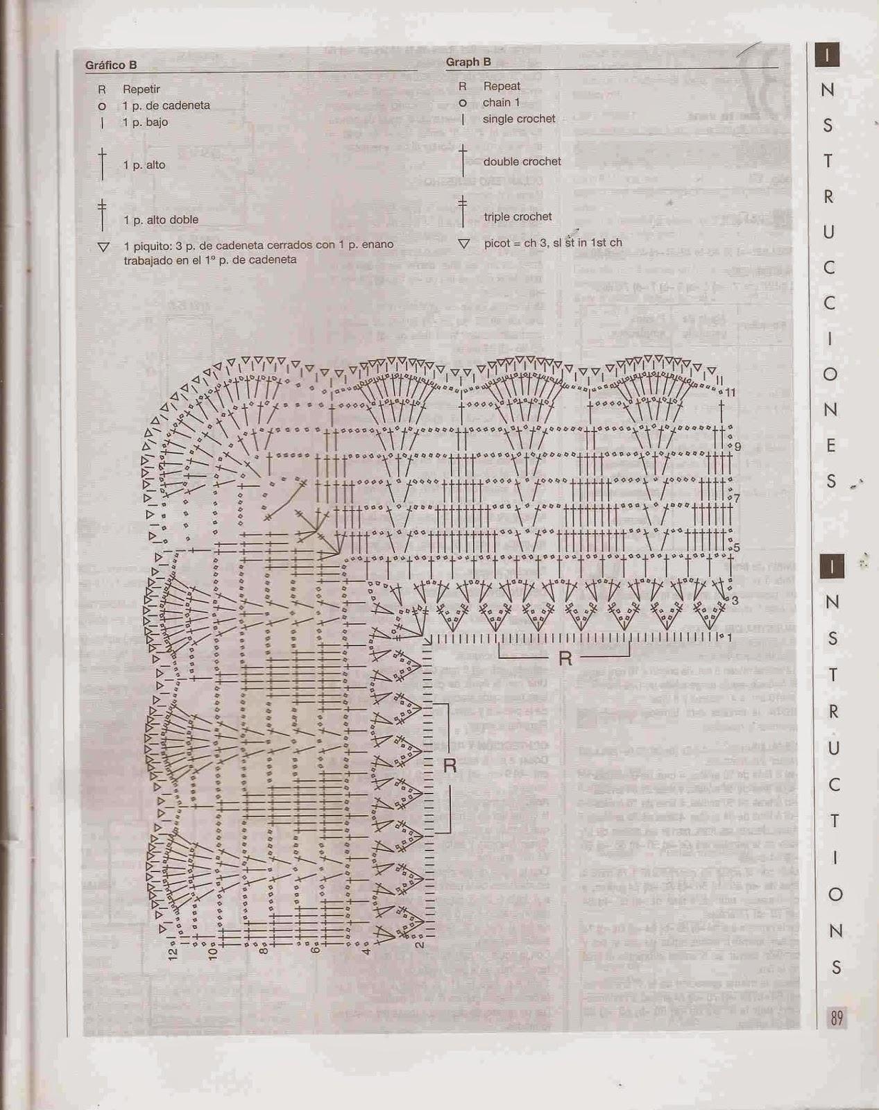 #67 Chal o Poncho Gris a Crochet
