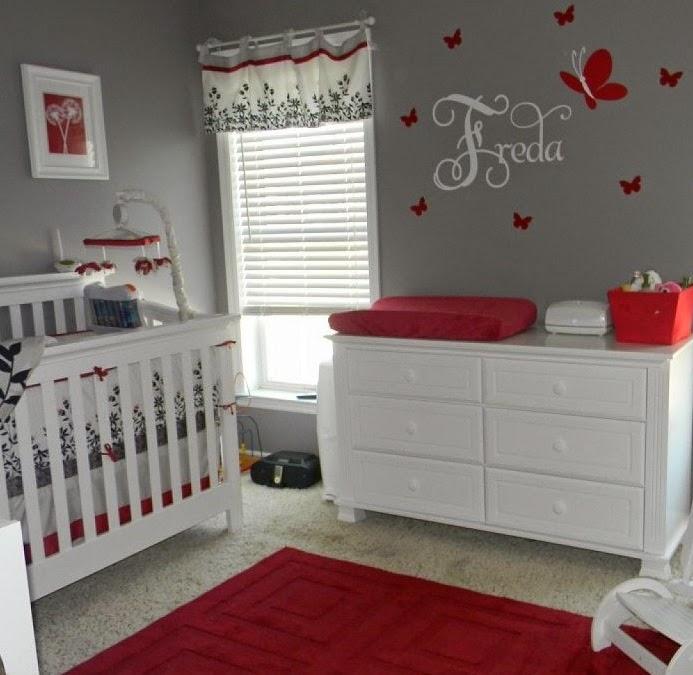 Lucerito by pilar mh habitaci n de beb en color gris - Habitacion bebe original ...