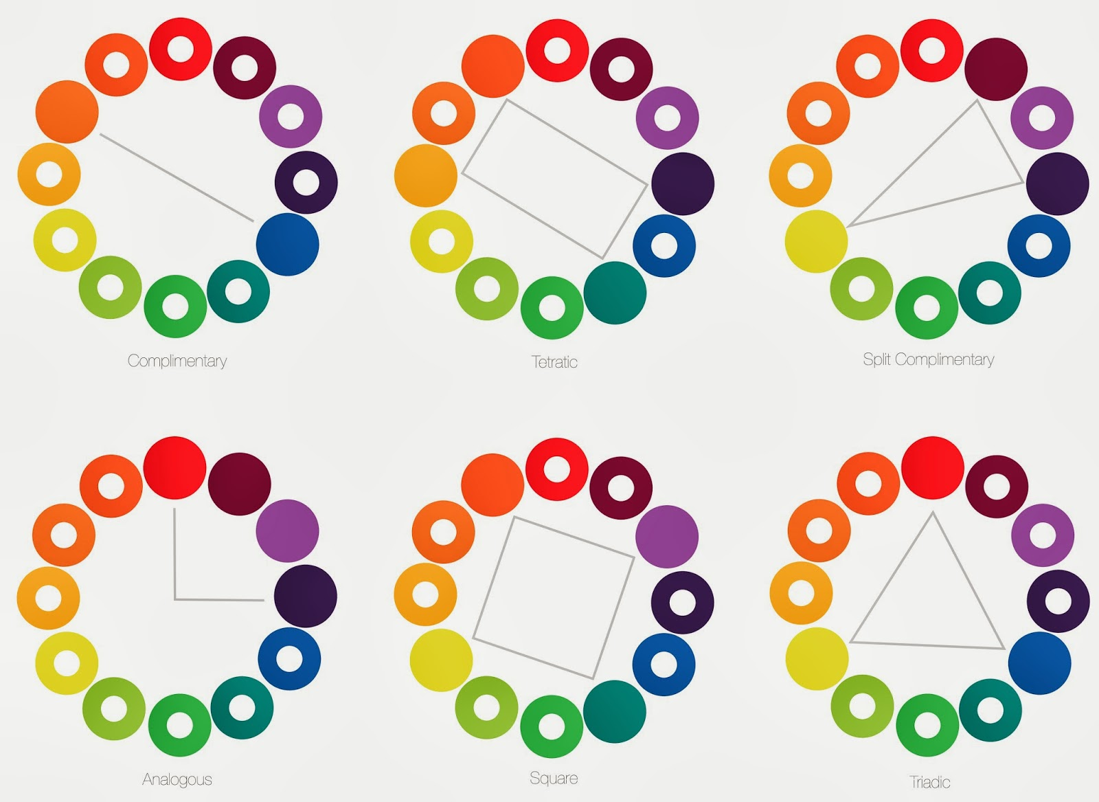 color schemes elementsprinciples of design - Color Schems