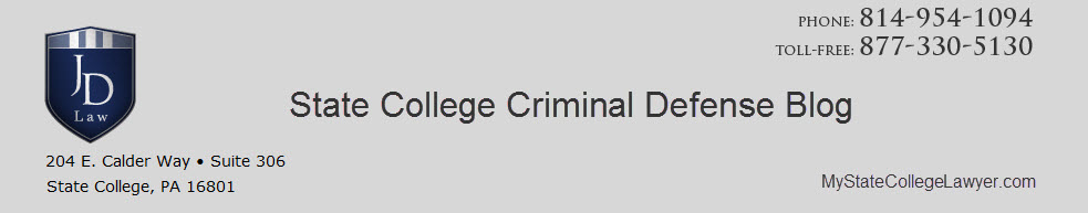 State College Criminal Defense Blog