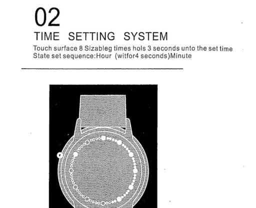 Drb80 Abyss Watch Instructions Translation