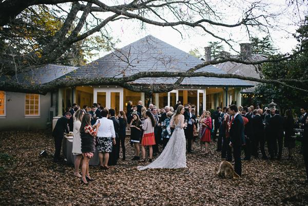 Abree fashion wedding fashion romantic petals for Fall outdoor wedding reception ideas