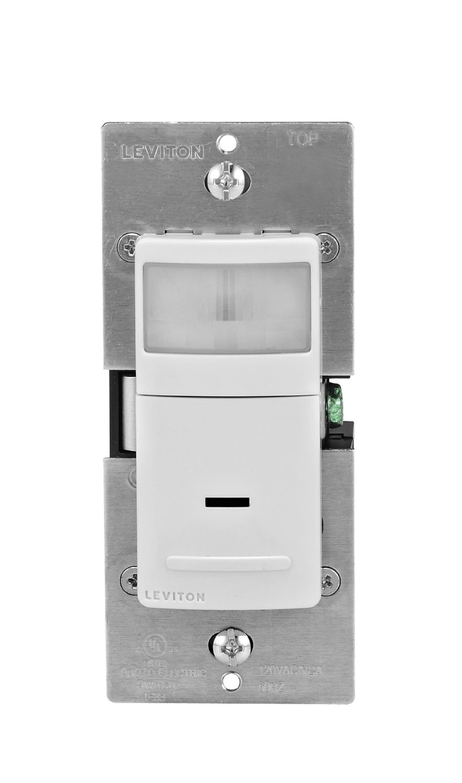 Leviton IPS02-1LW 300-Watt Incandescent, 150-Watt LED/CFL ...
