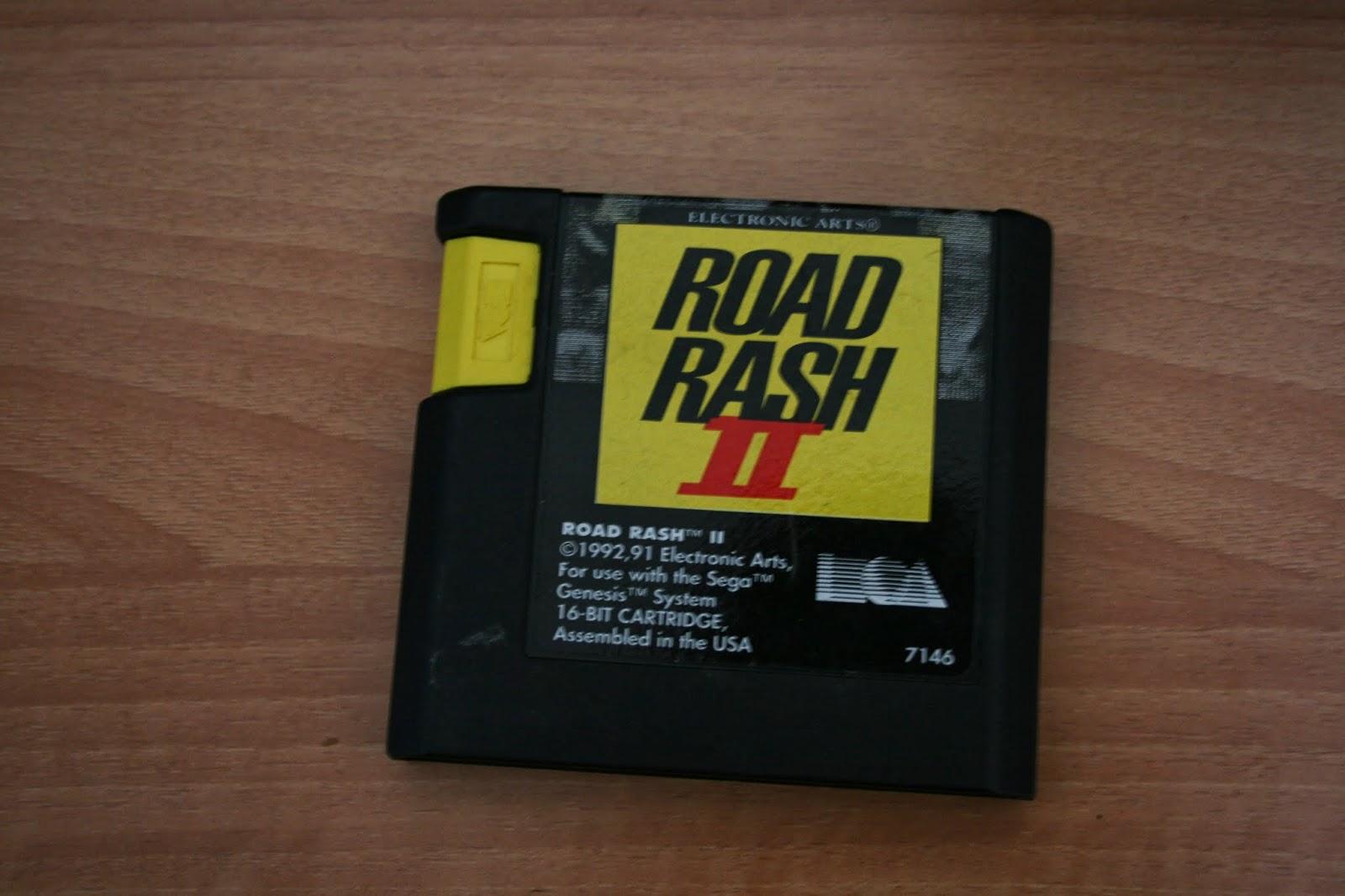 Road Rash II for Mega Drive