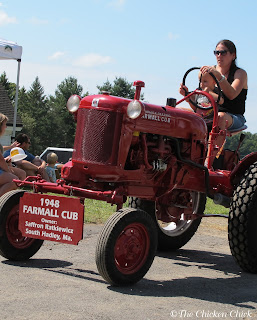 The tractor parade is always a highlight of Farm Fest for us.