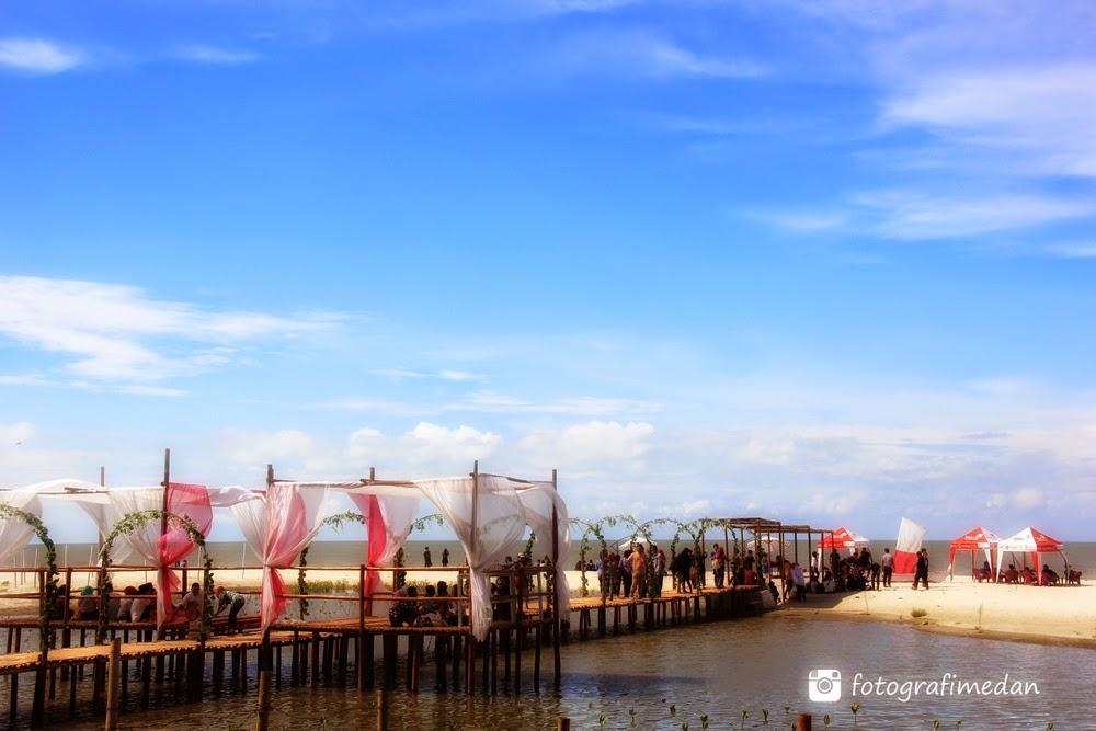 pantai romantis fotografi medan sumatera utara