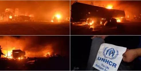 Boμβαρδίστηκε κονβόι της ανθρωπιστικής του μασονικού ΟΗΕ προς τρομοκράτες στο Χαλέπι!!!