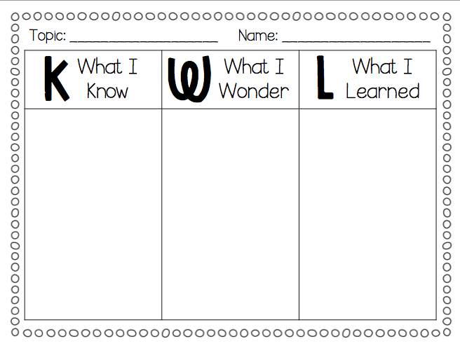 kwl chart template word document - first grade printable calendar math search results