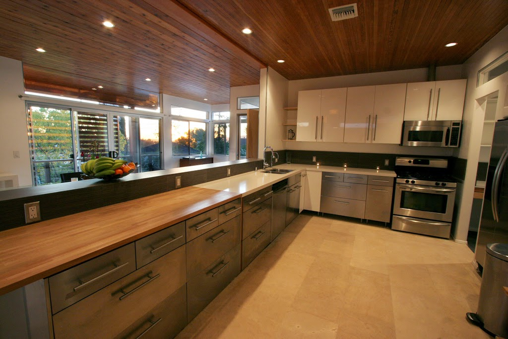 Modern Sleek Kitchen Interior Decor