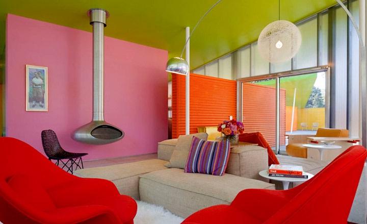 Decora y disena interior y exterior de casa en varios colores for Colores de interiores de casa