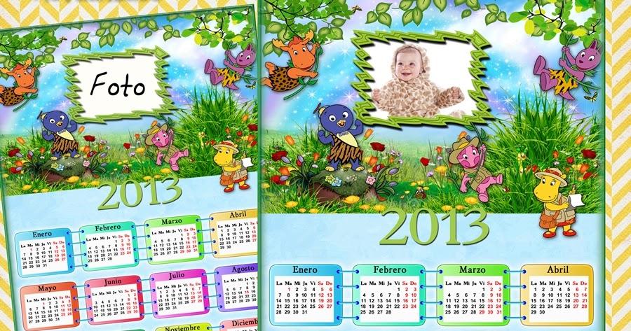 Calendarios para photoshop calendario para el 2013 de tus for Amigos del jardin