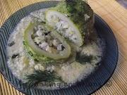 Zucchine con salsa avgolemono * Тиквички със сос авголемоно