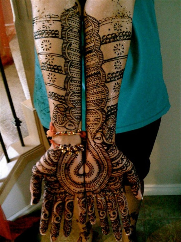latest design of mehndi