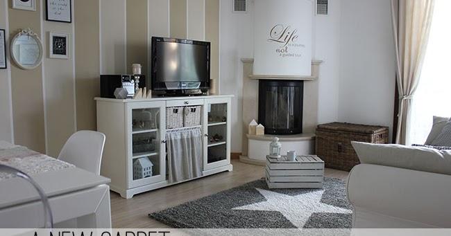 Un nuovo tappeto per il mio soggiorno home shabby home for Arredamento shabby ikea