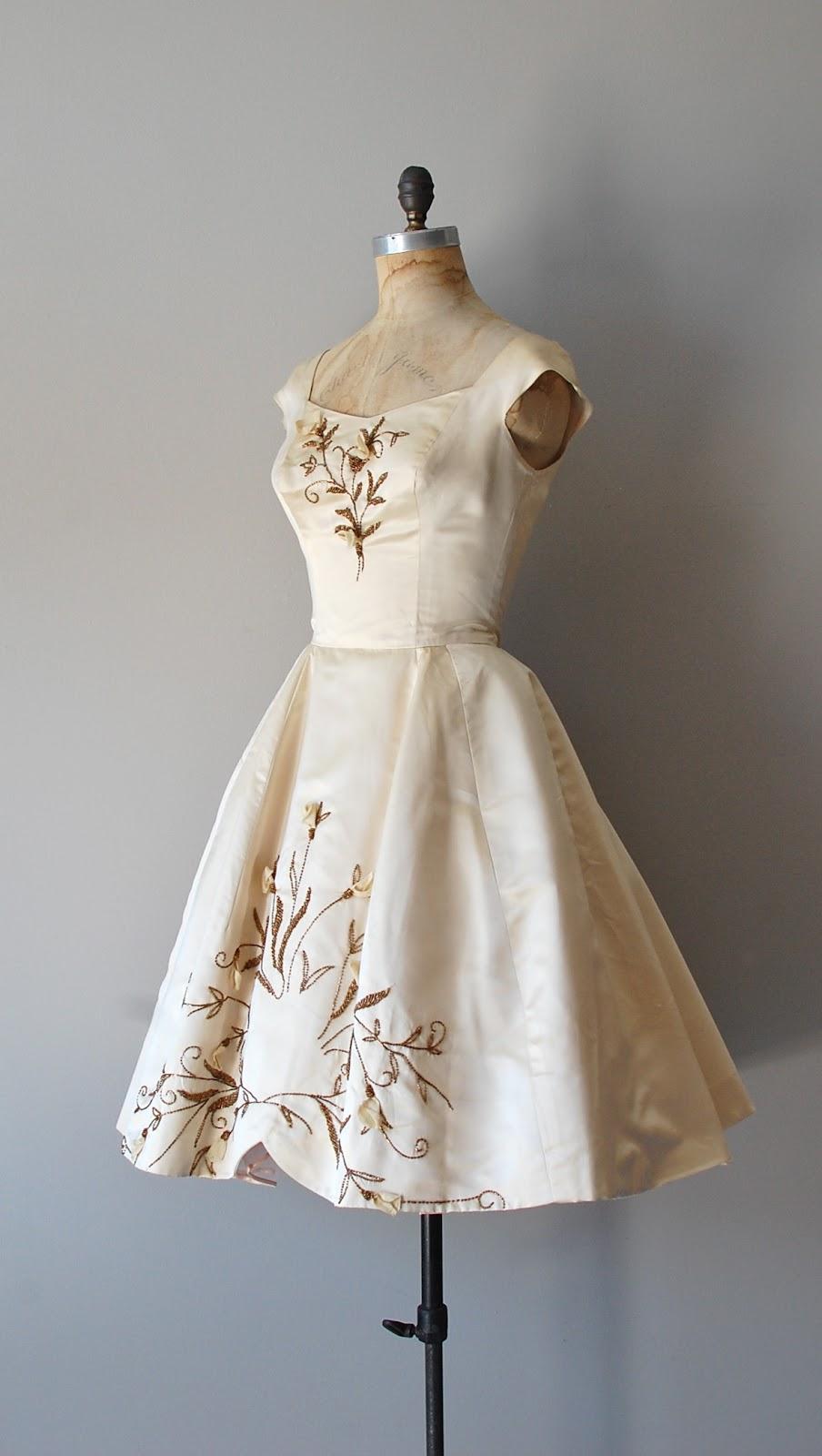 Dear Golden Vintage 1950s Wedding An Impossible Dream