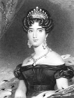 Augusta, Duchess of Cambridge  from La Belle Assemblée (1830)