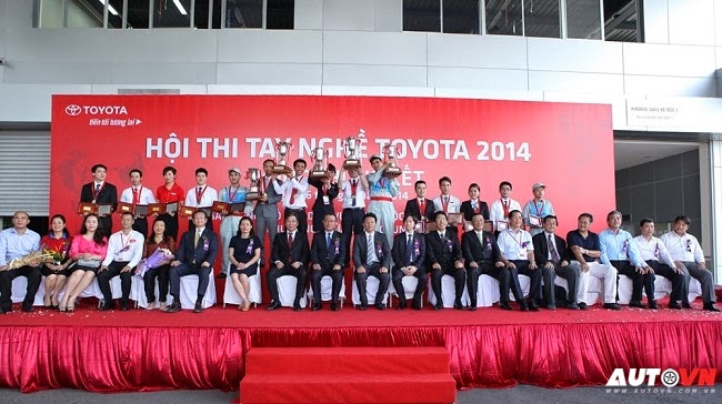 Hội thi tay nghề Toyota 2014