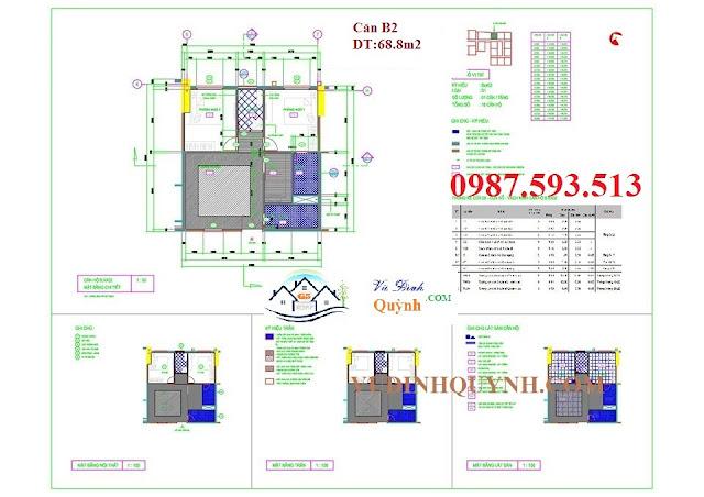 Căn B2 dự án 122 Vĩnh Tuy
