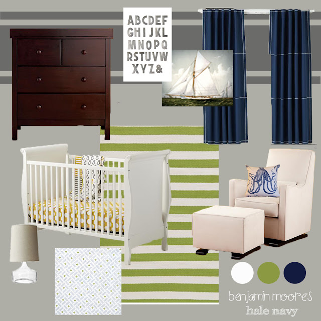 nautical nursery. Black Bedroom Furniture Sets. Home Design Ideas
