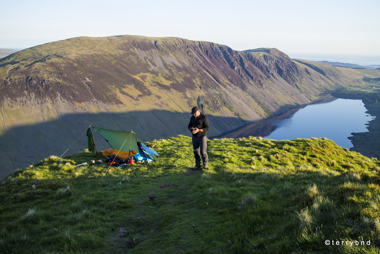 wild camping, Yewbarrow, Lake District