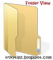 Changing Folder view in Windows