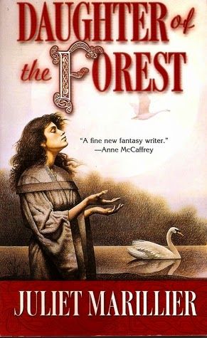 Book cover for Daughter of the Forest by Juliet Marillier